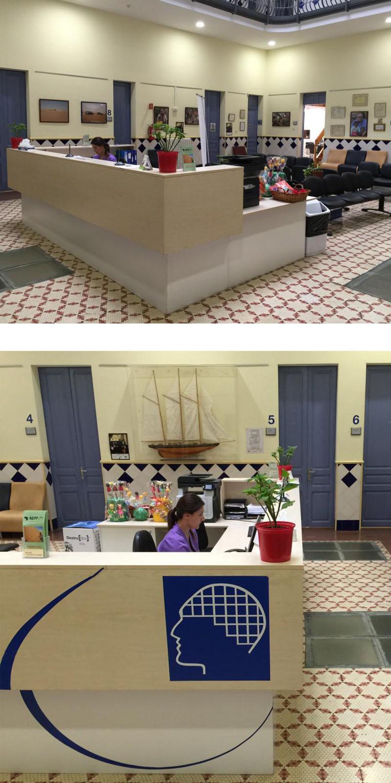 Sala de espera general Institut NEPP